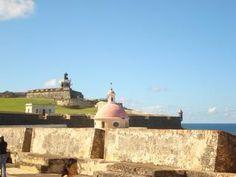 Old San Juan forts, more like castles!