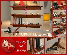 Boots 'n' Shoes - deco for shoe stores