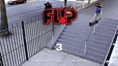 Louie Lopez Flip 3 Raw - TransWorld SKATEboarding - Clube do skate