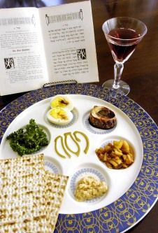 passover seder--Exodus 11-13