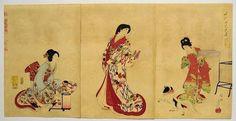 Japanese Ukiyo-e Nishiki-e Woodblock Print 386 Yoshu Chikanobu