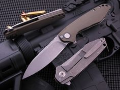 Southard Knives.  Really clean lines, on a great design.  Love this one.