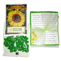 May 2015 Visiting / Home Teaching Gift from Watkins Party Store -- Sunflower seeds for planting AND chocolate sunflower seeds for eating (YUM!) included with a spiritual message for about a buck! Visiting Teaching Gifts, Home Teaching, Teaching Ideas, Spiritual Messages, Spiritual Thoughts, American Meadows, Party Stores, Relief Society, Sunflower Seeds