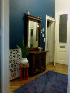 my hall – feeling blue Blue, Furniture, Home Decor, Decoration Home, Room Decor, Home Furnishings, Home Interior Design, Home Decoration, Interior Design