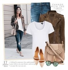 """""""2381. Get The Look"""" by chocolatepumma ❤ liked on Polyvore featuring Diesel, MANGO, Topshop, Chloé, Charlotte Russe, GetTheLook, casual, suede, CasualChic and chloe"""