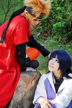Ahh! I'm fangirling over this awesome Naruto Cosplay! So cute!