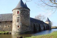 Château a SEGRE, France.