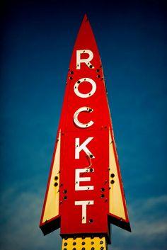 "vintage ""Rocket"" neo"