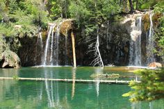 One of the #Vail area's favorite hikes is to #HangingLake. http://hikingincolorado.org/hang.html