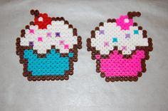 From mutti mama LOADS OD HAMA BEADS, Cupcakes hama beads by kitsunespe on deviantart