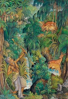 Pande Darmayana: Lukisan Tradisional Bali daerah Ubud