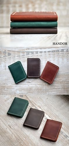 HANDOR - handmade leather products. Leather wallet, slim wallet, mens wallet, womens wallet, front pocket wallet, leather phone case, phone wallet, travel wallet, passport wallet, passport case, wood box, gift for men.