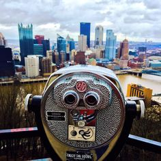 Pittsburgh from Mt. Washington.