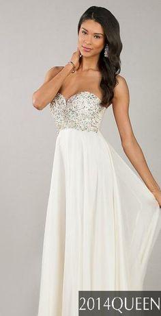 White prom dress White prom dresses. Wedding dress. Bridal. Bride. Long.