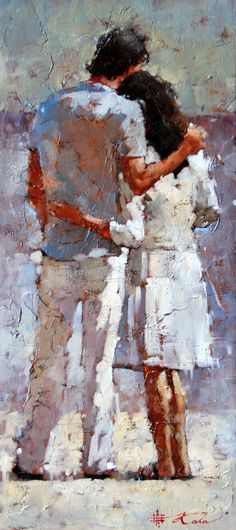 """En Vacances II"" (On Holiday) by Andre Kohn"