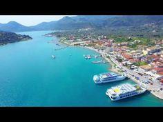 Nidri and arounds from Lefkada - YouTube