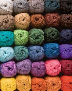 Stroll Sock Yarn Knitting Yarn from KnitPicks.com - Fingering weight merino nylon knitting yarn