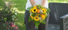 Tournesol et lavande : un mariage provençal - Bouquet de Laura : toute la provence