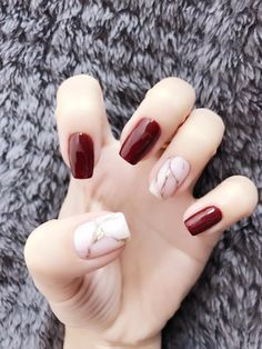 Very Pretty Nail Art Designs for Girls In Summer - Page 13 of 20 - Fashion Gel Nail Art, Nail Manicure, Gel Nails, Korean Nail Art, Korean Nails, Nail Swag, Minimalist Nails, Stylish Nails, Trendy Nails
