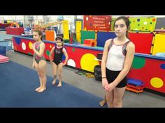 Beautiful turns and dance is an important part of balance beam and floor exercise. Here USA National Team Dance Coach and Choreographer Antonia Markova shows. Gymnastics Lessons, All About Gymnastics, Gymnastics Floor, Tumbling Gymnastics, Gymnastics Coaching, Gymnastics Videos, Usa National Team, Floor Workouts, Gym Design