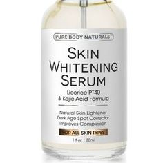 c - Dermal Penetration for Superior Results: Most skin whitening products fail to deliver effective, long lasting results because they don't properly penetrate the skin. Our potent formula features po