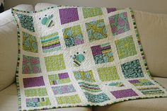 Bumble Bub Baby Quilt