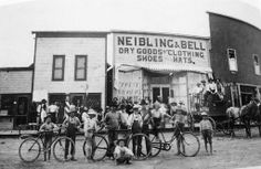Neibling & Bell Dry Goods-- 204 South Main 1904-1908.