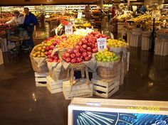 I'm a produce merchandiser...one of my displays.