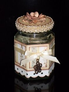 Altered Lolly Jar