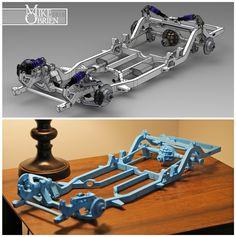 Datsun 620 with a Twin-Turbo – Engine Swap Depot Car Engine, Engine Swap, Turbo System, Chevy Models, Mini Trucks, Mechanical Design, Kit Cars, Twin Turbo, Go Kart