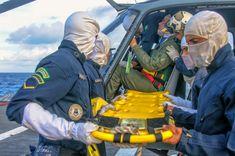 """NPaOC """"Apa"""" realiza operações aéreas em apoio aos Navios do ComGptPatNavSE"""