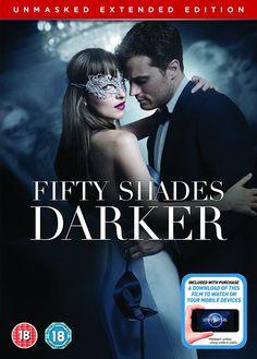 Fifty Shades Darker Unmasked Edition DVD + Digital Copy 2017: Amazon.co.uk: Jamie Dornan, Dakota Johnson, Kim Basinger, Hugh Dancy, James Foley: DVD & Blu-ray