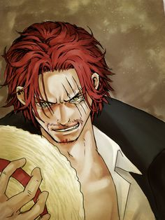 Red-Haired Shanks. One Piece.
