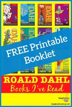 What Roald Dahl Books Have You Read? Roald Dahl Day, Matilda Roald Dahl, Roald Dahl Books, Roald Dahl Activities, Library Activities, Reading Projects, Book Projects, Roald Dalh, The Twits