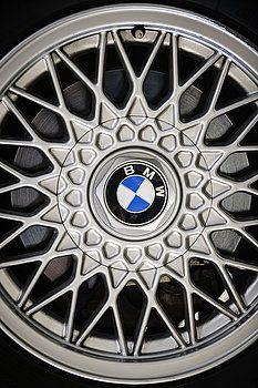 Jill Reger - 1989 BMW E30 M3 Convertible Wheel Emblem -0879c