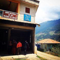 This is a Kingdom Hall in Todos-Santos, Huehuetenango, Guatemala. We were here in a Special Talk 12-04-15