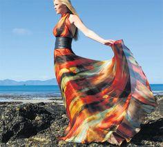 #THEIA Sunset gown, #Ballyheigue #Ireland