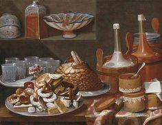 Carlo Magini Still Life with Cakes 18th century