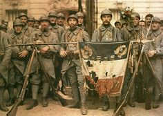 French Army, WWI // by  Leon Gimpel