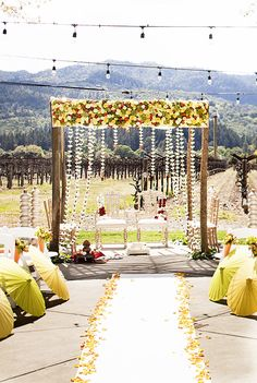 Would love an outdoor wedding. But England is not the most reliable of places to be wed outdoors : (