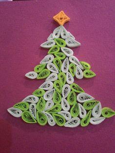 Quilling#christmasquilling#christmastree#vánočníquilling#vánočnístromeček#velmisnadnýquilling