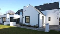 The riba has announced the 17 'best new houses' vying for this year's manse Fixer Up, House Designs Ireland, Planning Permission, House Stairs, Home Design Plans, Curb Appeal, Exterior Design, Building A House, New Homes