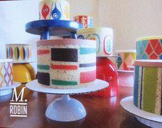 Mad Men cakes by M. Robin http://www.mrobincakes.com/