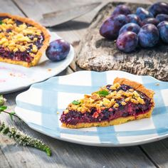 Fruchtiger Low Carb Zwetschgenkuchen
