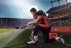 Tim Tebow, not afraid of his Christianity.