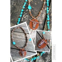 NEW ITEM ALERT!!!! we just got these in.. Leather Concho Cow Skull Chokers…
