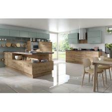 49 Cool Small Kitchen Design With Island - Design della cucina Kitchen Furniture, Kitchen Decor, Kitchen Ideas, Furniture Cleaning, Little Kitchen, Kitchen Small, Warm Kitchen, New Kitchen Cabinets, Island Kitchen