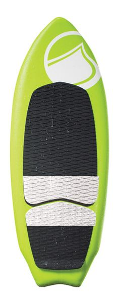 """Fun in the Sun! The Slaysh is an all-purpose shred stick. It takes a beating and keeps on ticking. Made with foam top and slick bottom PE base, this board is perfect for anyone that may not want to take their wakesurfing too seriously but still wants to ride a board that will perform. You can trim and glide with ease; hit the lip if you want, spin a 360 or just drink a cold beverage and """"Coffin"""", this board does it all."""