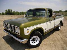 Vintage International Harvester Trucks | ... Harvester Weekend – A 1973 International Harvester 1210 Pickup