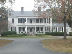 Litchfield Plantation in SC...very haunted